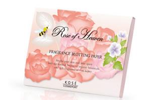 玫瑰of天堂香水污點紙吸油紙(70張裝)TSURUHA藥品