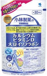 小林製薬 小林製薬の栄養補助食品 カルシウム ビタミンD 大豆イソフラボン 約30日分 (150粒) ツルハドラッグ ※軽減税率対象商品