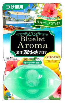 小林製薬 液体 ブルーレット おくだけ アロマ 無色の水 送料無料新品 70mL つけ替用 リフレッシュアロマの香り 保障