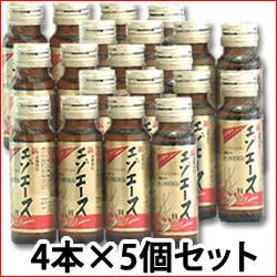 【第3類医薬品】【即納】 《セット販売》 滋養強壮 新エゾエースH (50ml×4本入)×5個セット  【送料無料】 【smtb-s】 ツルハドラッグ