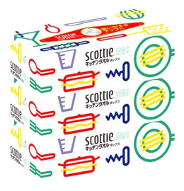 新着セール 特売 日本製紙 クレシア スコッティ キッチンタオル ×3箱パック 半額 キッチンペーパー 150枚 ボックス 75組