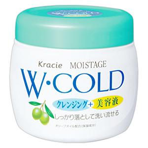 クラシエ モイスタージュ 往復送料無料 Wコールドクリーム 270g 美容液 ツルハドラッグ 割引 クレンジング