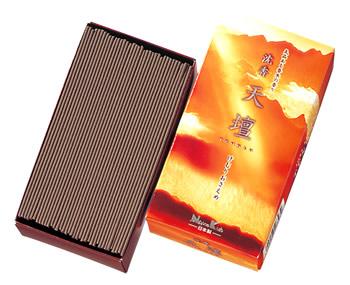 日本香堂 沈香天壇 バラ詰 (125g) 線香
