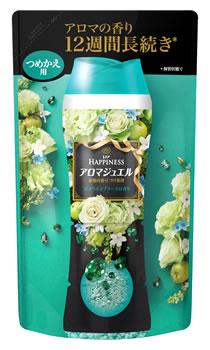 PG レノア レノアハピネス アロマジュエル エメラルドブリーズの香り つめかえ用 (455mL) 詰め替え用 【P&G】
