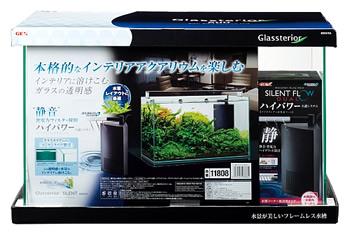 ジェックス グラステリア サイレント 600ST (1セット) 水槽セット 水中フィルター 観賞魚用品