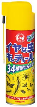 金鳥 KINCHO キンチョウ イヤな虫キンチョール (450mL) 殺虫剤 殺虫スプレー 34種類の虫に効く