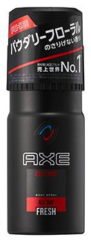【特売】 ユニリーバ アックス フレグランス ボディスプレー エッセンス パウダリーフローラルの香り (60g) AXE