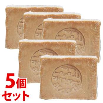 《セット販売》 アレッポの石鹸 ノーマルタイプ 無添加無香料 石けん 誕生日/お祝い ディスカウント ×5個セット YDKG-s 200g