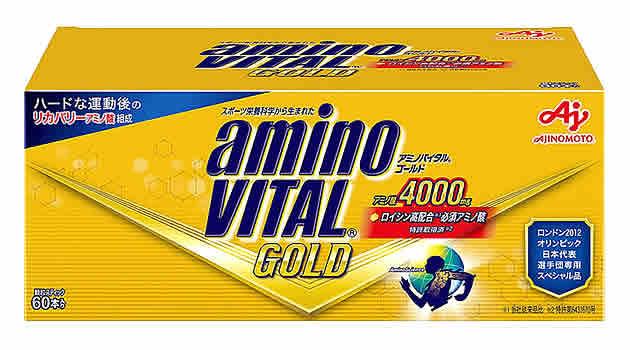 味の素 アミノバイタル ゴールド 箱 (60本) aminoVITAL ※軽減税率対象商品