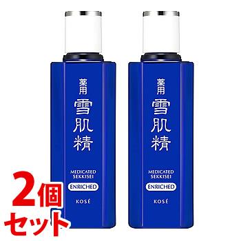 《セット販売》 コーセー 薬用 雪肌精 エンリッチ (200mL)×2個セット 化粧水 SEKKISEI 【医薬部外品】