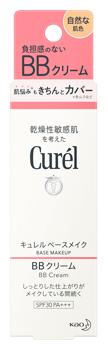 ※お一人様6個まで  花王 キュレル ベースメイク BBクリーム 自然な肌色 SPF30 PA+++ (35g) curel