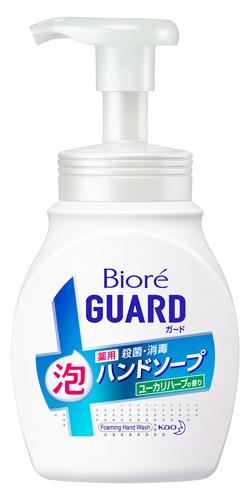花王 ビオレガード 薬用 泡 ハンドソープ ポンプ 絶品 4年保証 ユーカリハーブの香り 250mL 医薬部外品