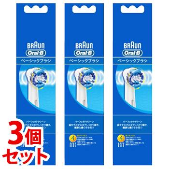 《セット販売》 信託 PG ブラウン オーラルB まとめ買い特価 パーフェクトクリーン EB20-4HB 4個 ×3個セット P 電動歯ブラシ用替えブラシ G