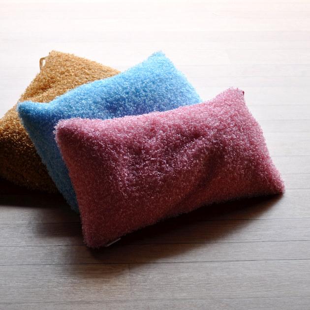 ちょこっと置いて ちょこっと使える 直送商品 ミニビーズクッション プードル 豊富な品 ※ピンク キャメルの3色からお選びいただけます ブルー