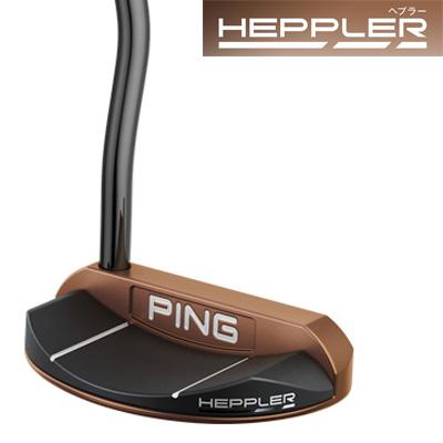 【GW限定クーポン配信中!】《あす楽》ピン HEPPLER(ヘプラー) PIPER パター (PP59グリップ装着モデル)