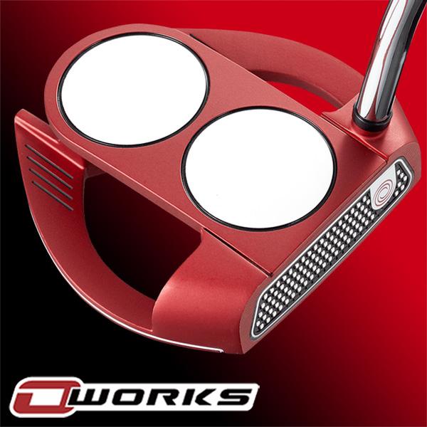 【最大5,000円OFFクーポン配信中!】《あす楽》オデッセイ O-WORKS(オー・ワークス) RED 2BALL FANG S パター