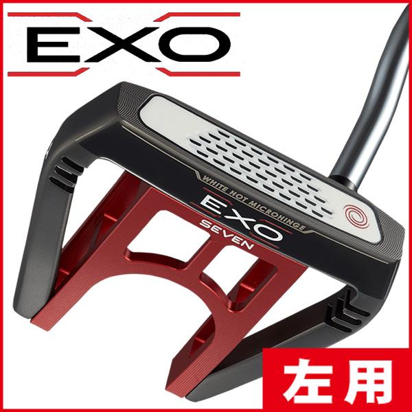 《あす楽》【レフティ/左利き用】オデッセイ EXO(エクソー) SEVEN パター