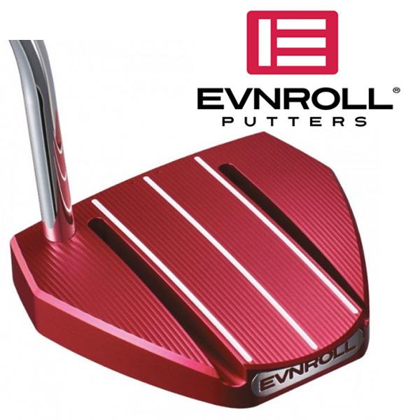 《あす楽》イーブンロール ER6 アイロール レッド パター (ノンテーパーグリップ装着モデル)