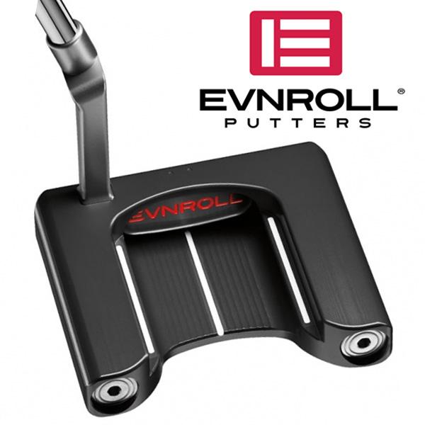 《あす楽》イーブンロール ER9.1 フルマレット パター (ノンテーパーグリップ装着モデル)