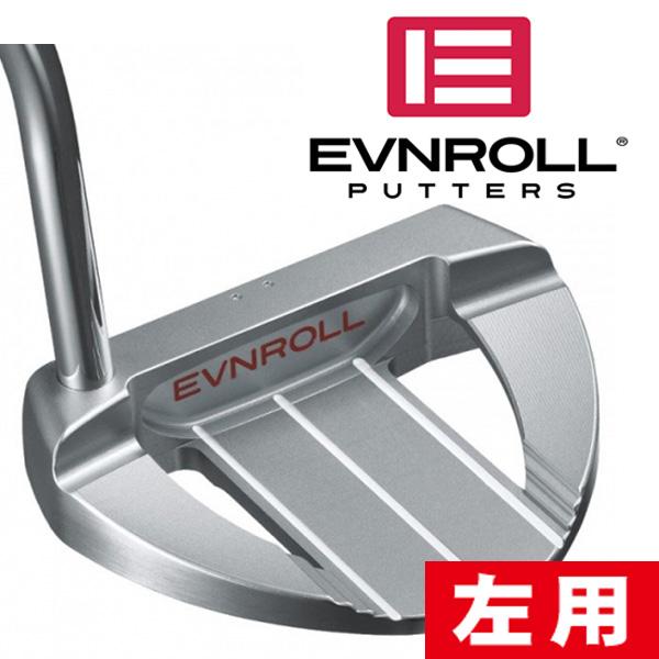 《あす楽》【レフティ/左利き用】イーブンロール ER7 フルマレット パター (ノンテーパーグリップ装着モデル)