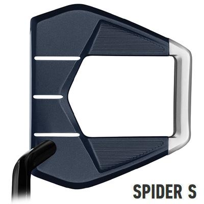 【GW限定クーポン配信中!】《あす楽》テーラーメイド スパイダー S ネイビー シングルベンド パター