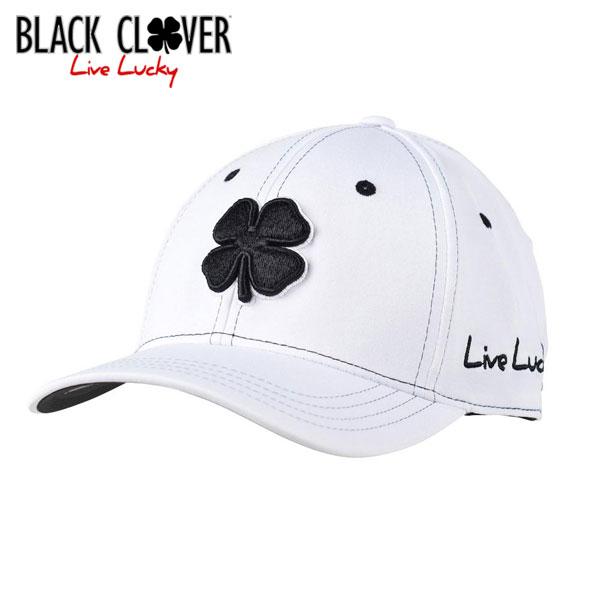 《あす楽》ブラッククローバー キャップ PREMIUM CLOVER #1 [ホワイトブラック]