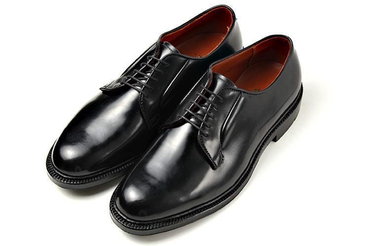 Alden(オールデン)9901 Eワイズ Blackブラック アメリカントラッド コードバン プレーントゥ
