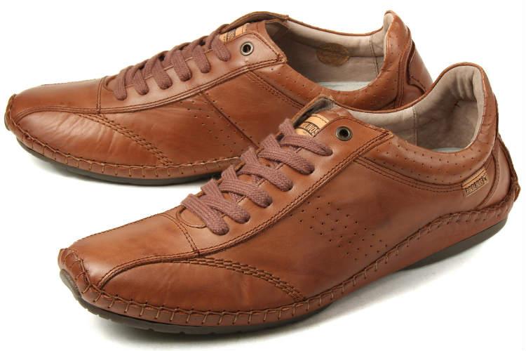 大きいサイズ 靴【27.5cm 28cm】PIKOLINOS(ピコリノス) メンズ レザースニーカー PK213 オーク ビッグサイズ