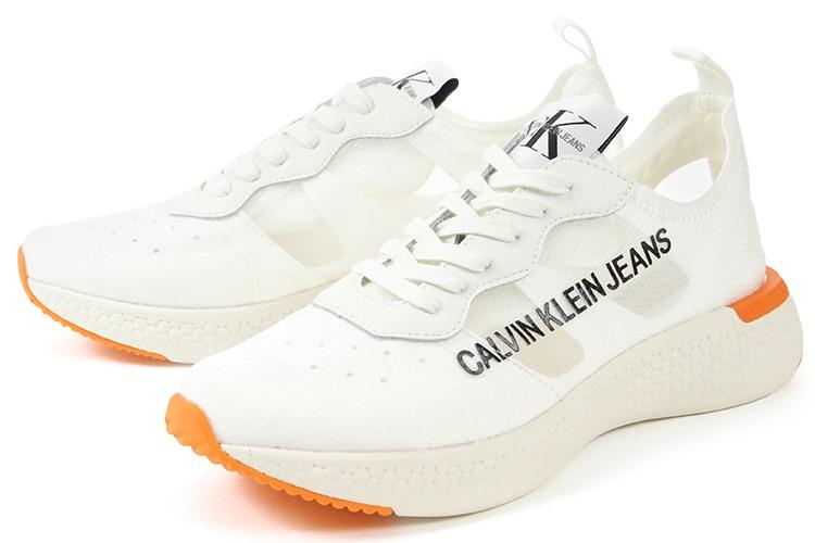 Calvin Klein Jeans(カルバンクライン ジーンズ) ALBAN SEMI TRANSPARENT NYLON 34S0583-BRW ホワイト