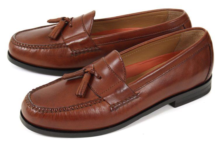 【セール】大きいサイズ 靴【28cm~31cm】ColeHaan(コールハーン) PINCH GRAND TASSEL(ピンチ グランド タッセル) C12770 ブラウン ビッグサイズ