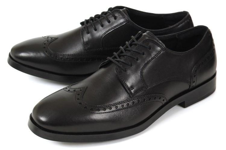 【エントリーでポイント10倍】【セール】大きいサイズ 靴【28cm~31cm】ColeHaan(コールハーン) JAY GRAND WING OXFORD(ジェイ グランド ウィング オックスフォード) C23774 ブラック ビッグサイズ [返品交換対象外]
