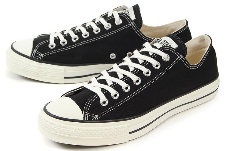 【エントリーでポイント10倍】converse(コンバース) CANVAS ALL STAR J OX(キャンバス オールスター J オックス) 32167431 ブラック