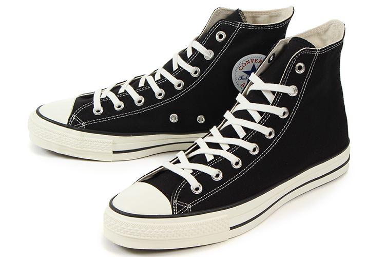 【エントリーでポイント10倍】converse(コンバース) CANVAS ALL STAR J HI(キャンバス オールスター J HI) 32067961 ブラック
