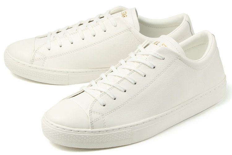 converse(コンバース) LEATHER ALL STAR COUPE OX(レザーオールスター クップ オックス) 31301810 ホワイト