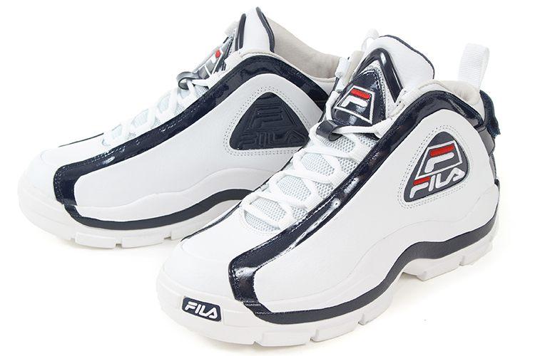 FILA(フィラ) 96 GL(96 グラントヒル) F0313 0125 ホワイト/ネイビー