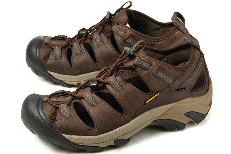 【エントリーでポイント10倍】大きいサイズ 靴【29cm 29.5cm 30cm】KEEN(キーン) ARROYO II(アロヨ 2) 1002427 スレートブラック/ブロンズグリーン ビッグサイズ