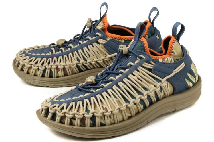 【エントリーでポイント10倍】大きいサイズ 靴【29cm 30cm】KEEN(キーン) UNEEK HT(ユニーク エイチティー) 1019951 デザートドーン/サンドウェーブ ビッグサイズ