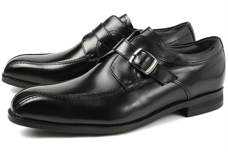 Kenford(ケンフォード) メンズ 靴 モンクストラップシューズ KN23 AB ブラック