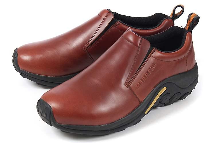 大きいサイズ 靴【29cm 30cm】MERRELL(メレル) JUNGLE MOC LEATHER(ジャングルモック レザー) J567117 ダークブラウン ビッグサイズ