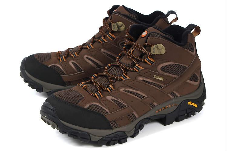 大きいサイズ 靴【29cm 30cm】MERRELL(メレル) MOAB 2 MID GORE-TEX(モアブ 2 ミッド ゴアテックス) J06063 アース ビッグサイズ