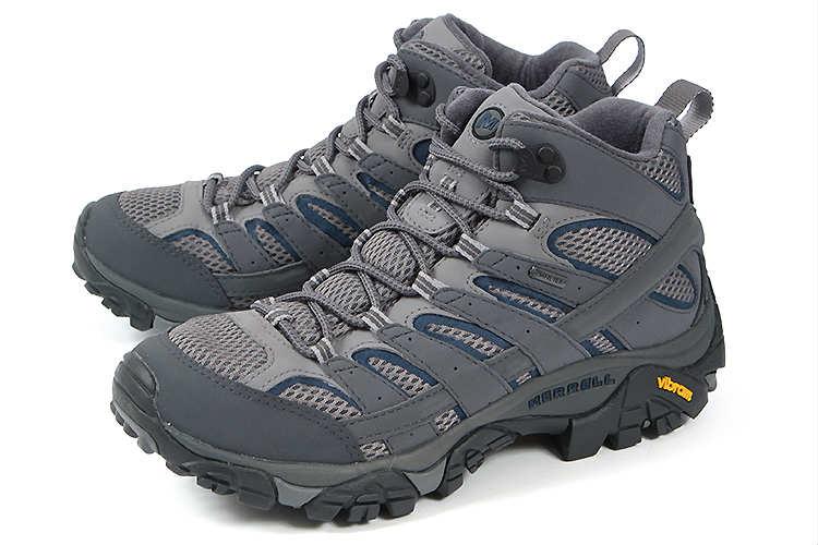 大きいサイズ 靴【29cm 30cm】MERRELL(メレル) MOAB 2 MID GORE-TEX(モアブ 2 ミッド ゴアテックス) J06067 キャッスルロック ビッグサイズ