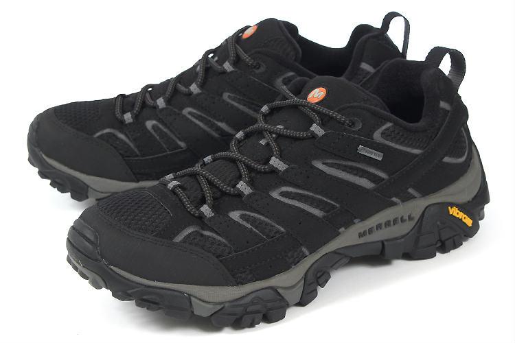 大きいサイズ 靴【29cm 30cm】MERRELL(メレル) MOAB 2 GORE-TEX(モアブ 2 ゴアテックス) J06037 ブラック ビッグサイズ