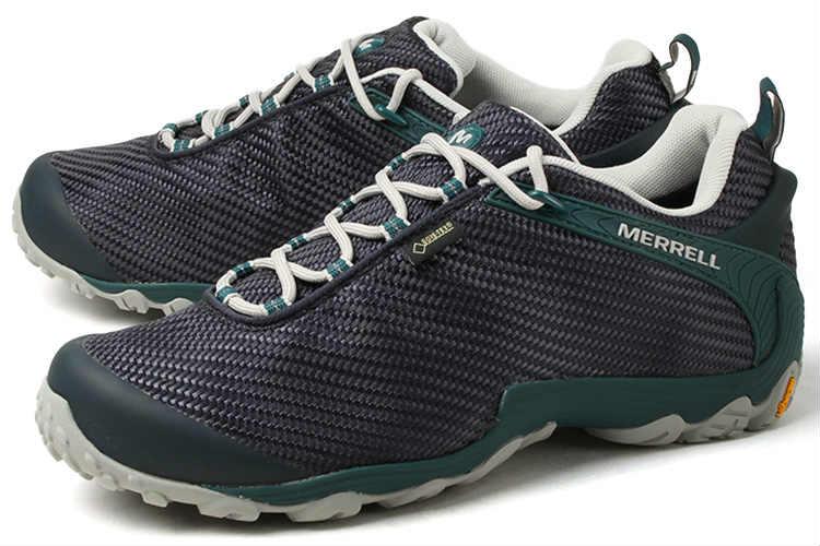 【エントリーでポイント10倍】大きいサイズ 靴【29cm 30cm】MERRELL(メレル) CHAMELEON 7 STORM GORE-TEX(カメレオン 7 ストーム ゴアテックス) J36477 ネイビー/ティール ビッグサイズ