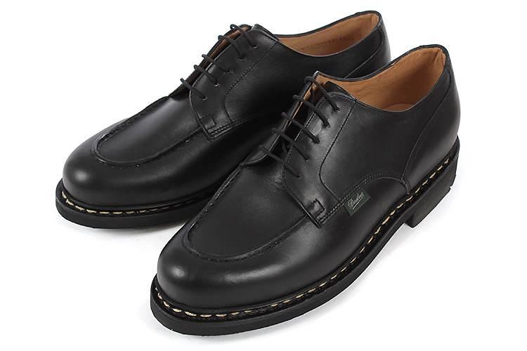 【エントリーでポイント10倍】大きいサイズ 靴 Paraboot (パラブーツ) シャンボード 710709 NOIRE-LIS NOIR(BLACK) ビッグサイズ