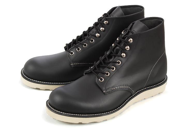 大きいサイズ 靴 Red Wing (レッドウィング) 8165 BLACK ブラック 黒 ビッグサイズ