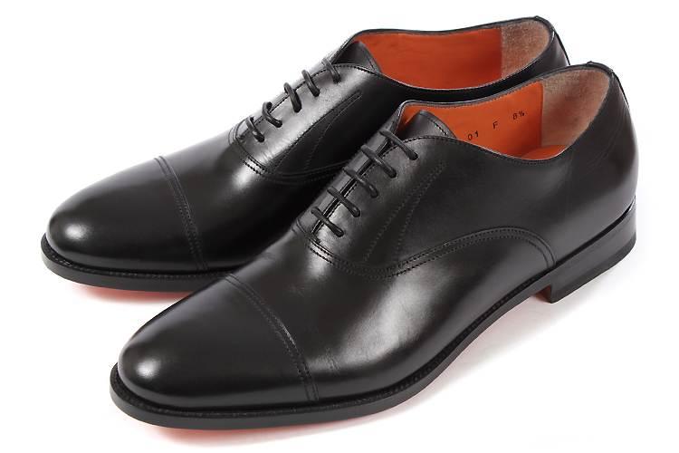 大きいサイズ 靴 Santoni (サントーニ) MCOS10359 Black ブラック ビッグサイズ