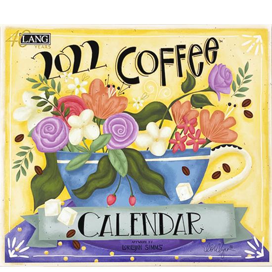 2022年 LANG社(ラング)カレンダー コーヒー (Coffee)