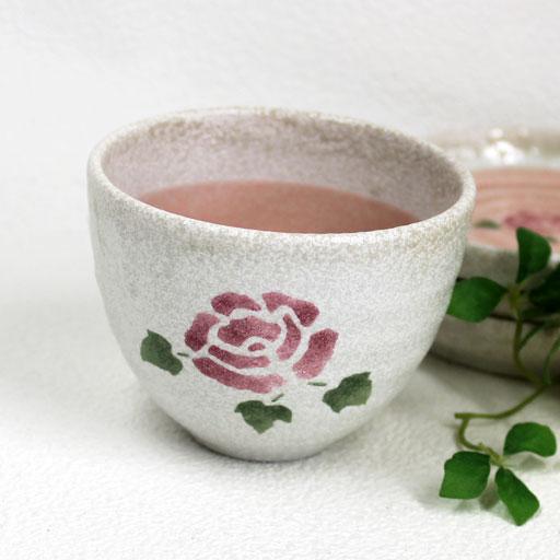 マニーローズ ツートンカラー磁器フリーカップ 湯のみ 2020新作 正規品スーパーSALE×店内全品キャンペーン