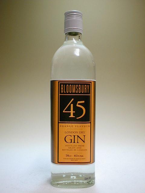 扫帚巴里橙子·杜松子酒45度700ml正规的进口商品