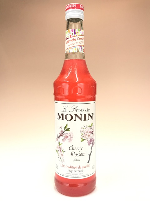 MONIN monan樱花糖浆700ml